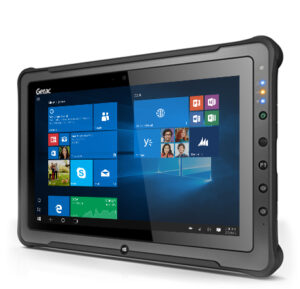 Getac F110 combines best-in-class performance, industry-leading security, a large 11.6″ display and a thin and light design