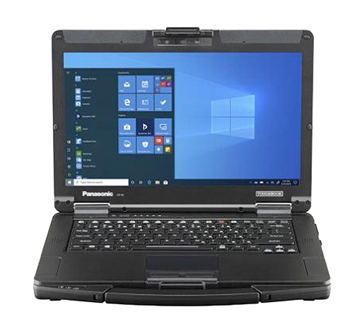 TOUGHBOOK 55 is the world's lightest and th innest semi -rugged notebook in its class