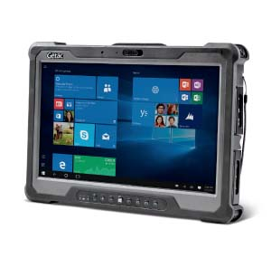 Getac A140 is an ultra-rugged, powerful, 14″ tablet ideal for applications that require an HD or FHD display