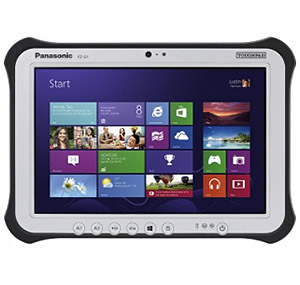"Panasonic TOUGHPAD FZ-G1 Thinnest and Lightest Fully Rugged 10.1"" Tablet"