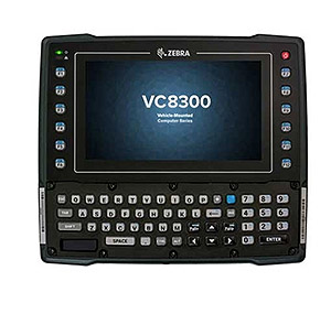 Zebra VC8300 Ultra-Rugged Keyboard/Touchscreen Android Vehicle Mount Computer