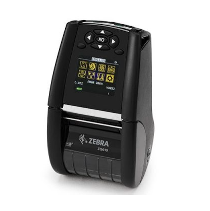 Zebra ZQ600 series mobile printers is equipped with advanced technology and intuitive design for printing labels and receipts