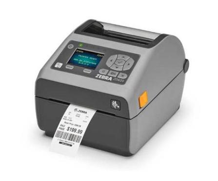 "Zebra ZD620 4"" high-quality desktop printer"