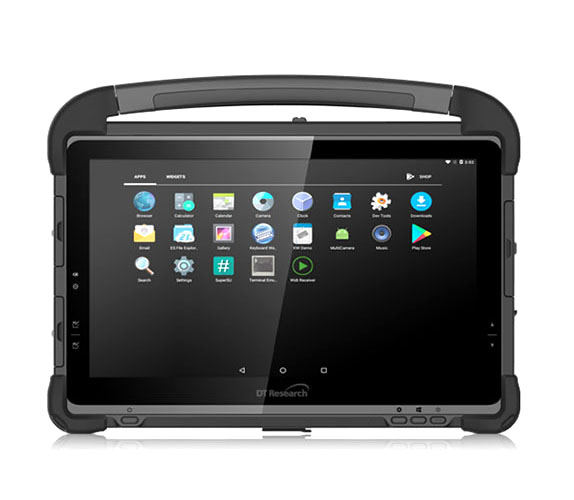 "dt research dt311Q-Fully rugged 11.6"" Android tablet"